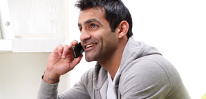 pic of man on the phone